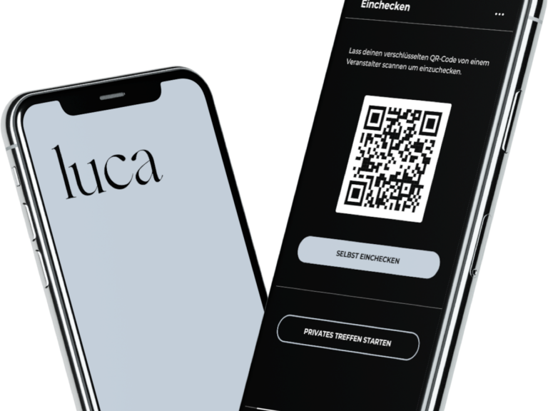 Luca App Screen
